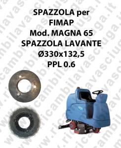 SPAZZOLA LAVARE  per lavapavimenti FIMAP - MAGNA 65