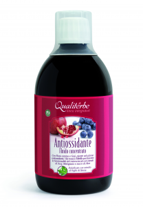 ANTIOSSIDANTE (Vegan Ok ) 500 ml Antiossidante Analcolico in fluido concentrato