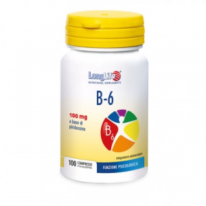 B-6 - INTEGRATORE VITAMINA E PER STATI DI CARENZA LONG LIFE