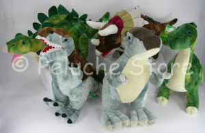 Animal Planet Dinosauri peluche 27 cm T-Rex Brontosauro Stegosauro