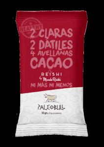 PaleoBull - Confezione da 15 Pezzi di Barrette al Cacao & Reishi
