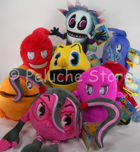 Pac Man Ghostly Adventures peluche da 15 a 30 cm velluto Originale Pacman