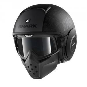 SHARK DRAK TRIBUTE RM - Jet Helmet - Matt Black and Anthracite