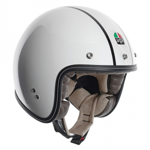 AGV CITY RP-60 Multi Bonneville Gladiator - Jet Helmet - White