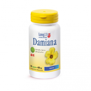 DAMIANA - INTEGRATORE TONICO LONG LIFE
