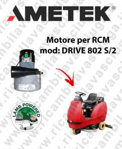 DRIVE 802 S/2 MOTORE aspirazione LAMB AMETEK lavapavimenti RCM