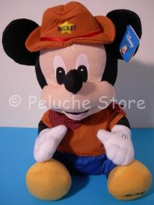 Disney Topolino cicciotto cowboy sceriffo peluche Grande 45 cm Mickey Mouse