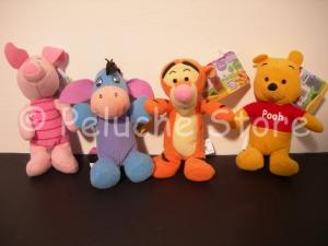 Winnie the Pooh Disney peluche 11 cm Tigro Pimpi Hi Oh Originale