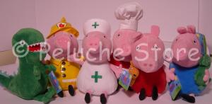 Peppa Pig e amici Peluche velluto 30 cm Nuovo Originale