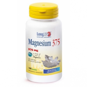LONGLIFE MAGNESIUM 375 - INTEGRATORE DI MAGNESIO