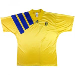 1992-94 Svezia Maglia Home XL