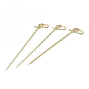 Spiedini finger food bamboo con ricciolo 10,5 cm