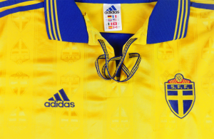 1998-99 Svezia Maglia Player Issue Home XL