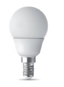 Lampadina E14 Sfera Led Power 6watt