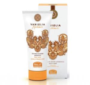 Schiuma da bagno aromatica Vaniglia Kashmir Helan 200 ml.