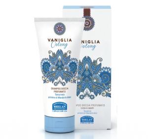 Shampoo doccia profumato Vaniglia Oolong Helan 200 ml.