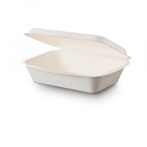Contenitore asporto con coperchio biodegradabile - 450ml