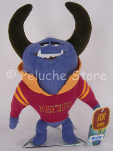 Disney Store Monsters University Johnny ROR Fraternity peluche 25 cm Velluto