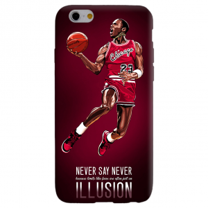 JORDAN NEVER SAY NEVER cover per iphone vari modelli