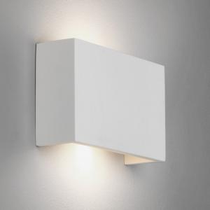 RIO 210 LED applique in gesso bianco