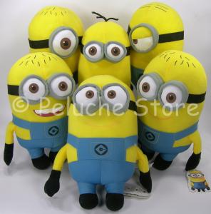 Cattivissimo Me 2 Minions peluche 3D 30 cm Originale Dave Mark Stuart Phil