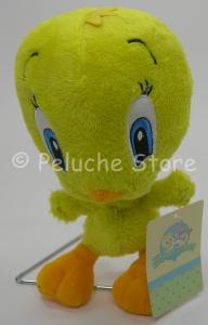 Baby Looney Tunes Titti Canarino Peluche 20 cm Tweety Pie velluto Originale