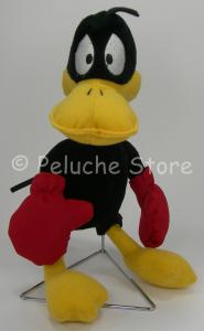 Looney Tunes Sport Duffy DuckBoxe peluche 25 cm Anatra Velluto