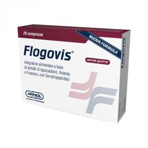 FLOGOVIS - INTEGRATORE PER IL DRENAGGIO DEI LIQUIDI E PER LA FUNZIONALITA' DEL MICROCIRCOLO