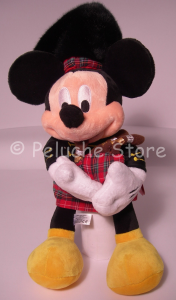 Topolino Scozzese Cornamusa peluche 40 cm Disney Store