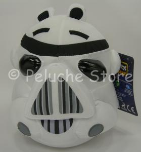 Angry Birds Star Wars Stormtrooper peluche 25 cm velluto Originale