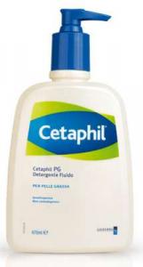 Cetaphil pg detergente fluido pelle grassa