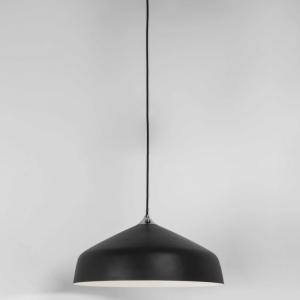 GINESTRA 400 lampada sospensione nera