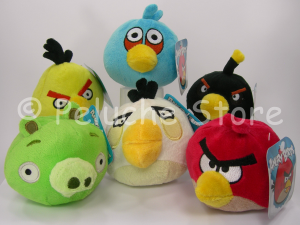 Angry Birds peluche 10 cm Qualità Velluto Originale
