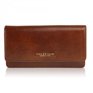 Woman wallet The Bridge  01780601 14 cuoio