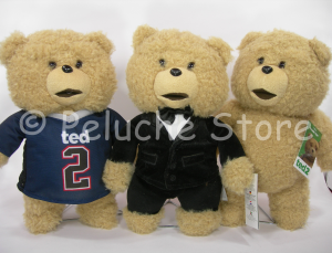 Ted 2 Film Peluche 30 cm Orso Classico Smoking Basket Bear Originale