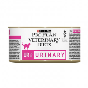 Urinary Gatto Alimento Veterinary UR Tacchino Umido Purina 190gr.