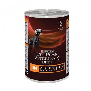 Alimento per problemi di obesità Veterinary Cane OM Umido Purina