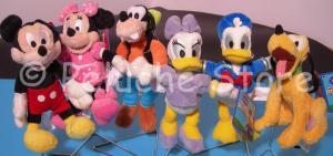 Disney Topolino e amici peluche 20 cm Originale Mickey Mouse Minnie Paperino