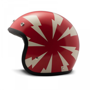 DMD VINTAGE BANG Jet Helmet - Red