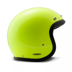 DMD VINTAGE FLUO Jet Helmet - Yellow