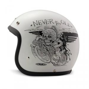 DMD VINTAGE OLDIE Jet Helmet - White