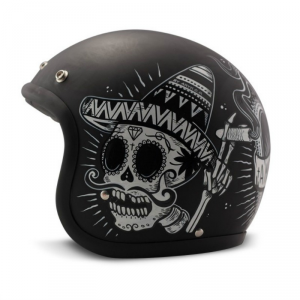 DMD VINTAGE SIN FIN Jet Helmet - Black