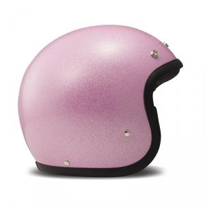 DMD VINTAGE GLITTER Jet Helmet - Pink