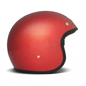 DMD VINTAGE GLITTER Jet Helmet - Red