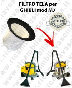 FILTRO TELA PER aspirapolvere GHIBLI modello M7