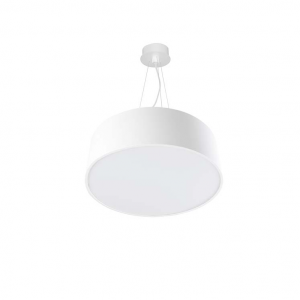 LUNO 40 LED lampada sospensione tonda bianca 30 watt