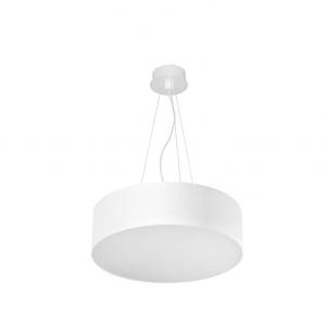 LUNO 60 LED lampada sospensione tonda bianca 52watt