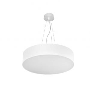 LUNO 90 LED lampada sospensione tonda bianca  97watt