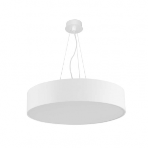 LUNO 120 LED lampada sospensione  tonda bianca  146watt