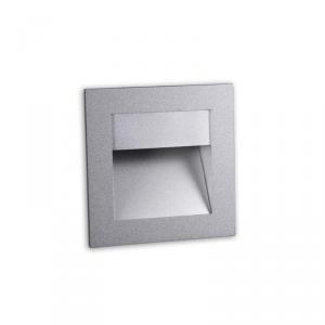 SIGN LED 2,2 watt faretto segnapasso incasso grigio